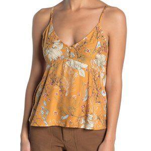 O'Neill Madison Floral Print Camisole sz Medium